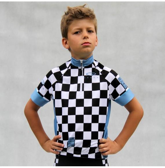 Koszulka kolarska dziecieca