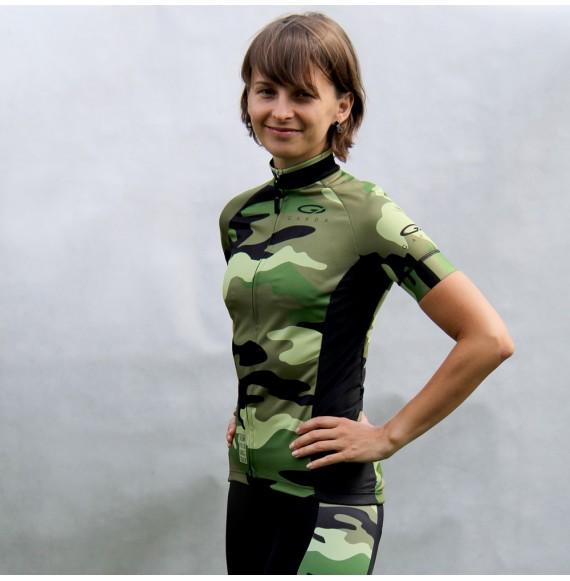 Koszulka kolarska damska