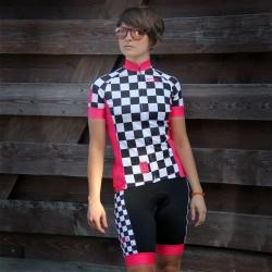 Damska koszulka kolarska