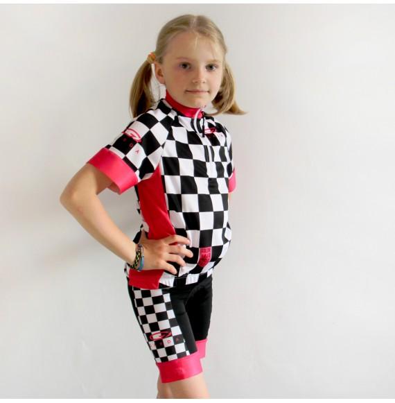 Dziecieca koszulka kolarska